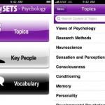 Study Sets iPhone app