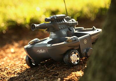 Super RC Amphibian Tank