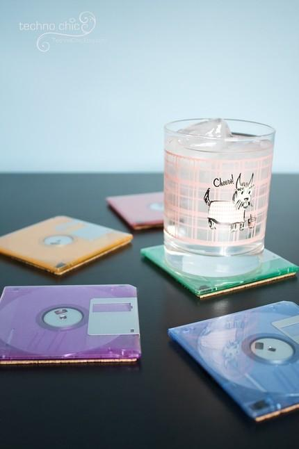 The Floppy Disks are now back as Floppy Disk Coasters in Funky Colors