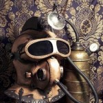 Underwater Steampunk Helmet