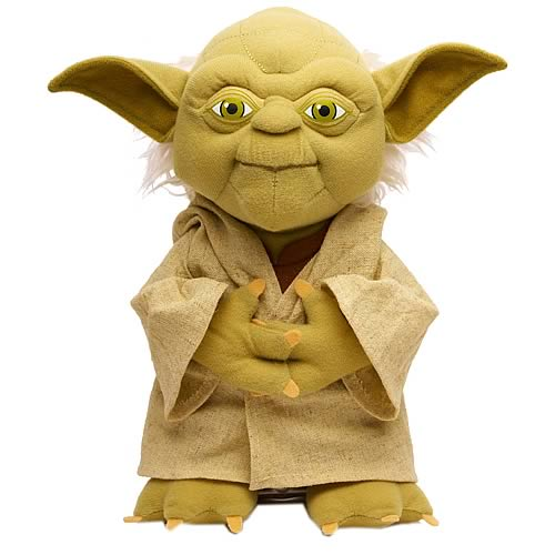 Yoda Talking Plush