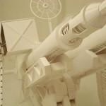 anti-aircraft gun papercraft weapons