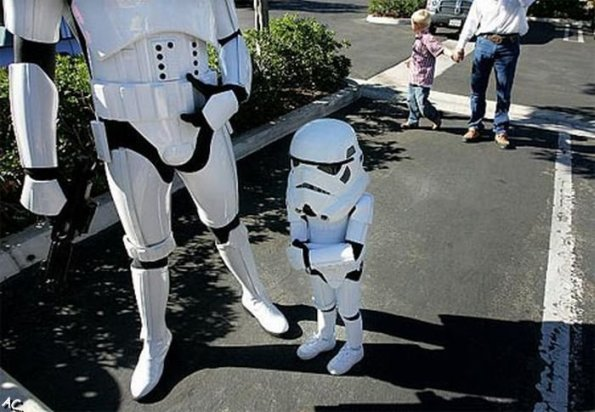 best stormtrooper costume ever cute