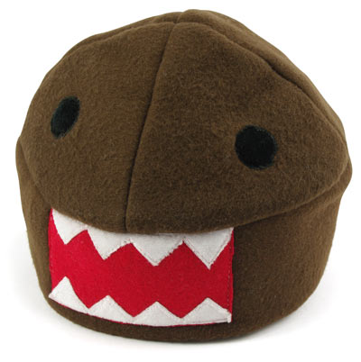 domo kun plush hat1