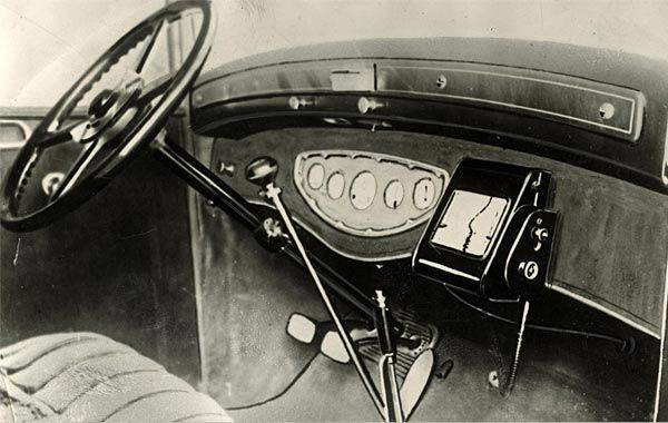 gps device from 1920 image