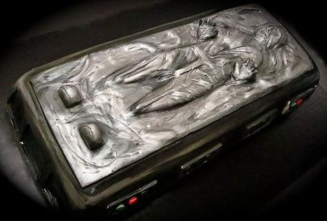 han solo frozen in carbonite cake design 1
