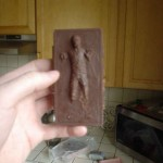 han solo frozen in carbonite chocolate 1