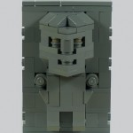 han solo frozen in carbonite lego cube dude design 1
