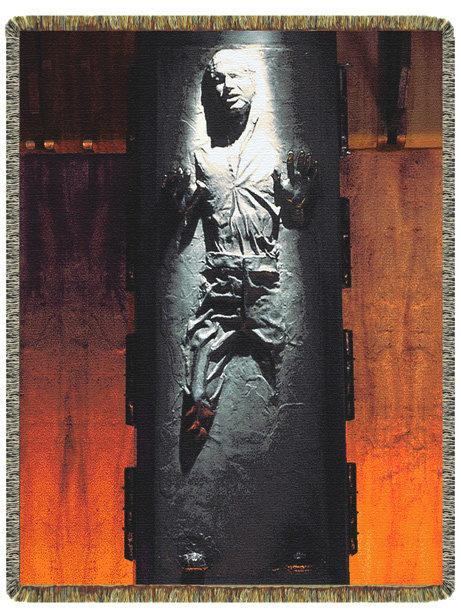 han solo frozen in carbonite table design image