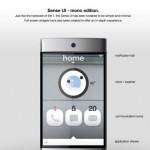 htc 1 smartphone touchscreen design