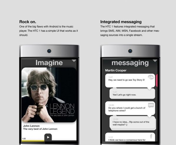 htc 1 touchscreen smartphone design 2