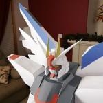 papercraft gundam model