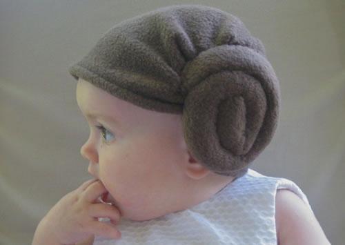 princess leia baby haircut image