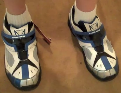 star wars stride shoes image