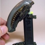 Alien mouth open