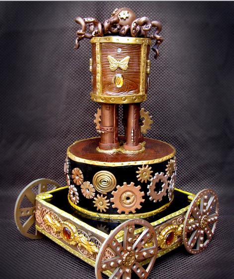 Steam-Punk Cake