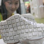 Computer keyboard shoes