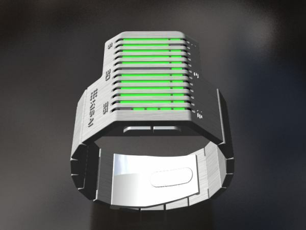 Kisai Cybertronic Watch Is Out Of This World!-1
