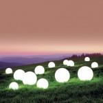 Moonlight Glowing Orbs Lamp