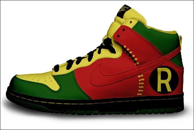 Batman shoe