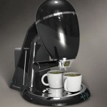 Small Size, Big Functionality Coffee Machine Concept