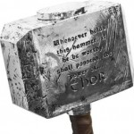 Thor hammer closeup