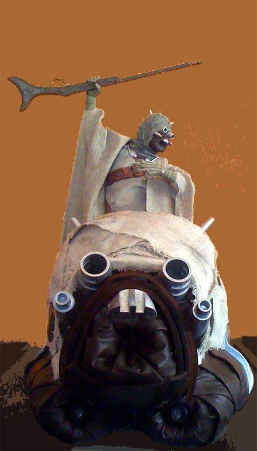 Tusken Trooper Helmet For The Star Wars Fan (1)