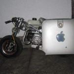 apple g4 motorbike motorcycle mod design