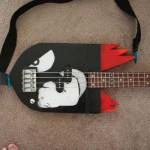bullet bill bass guitar mod design