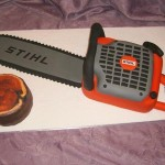 chainsaw cake design image 1