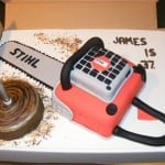 chainsaw cake design image 2
