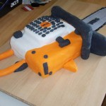 chainsaw cake design image 9