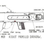 chainsaw design rocket propelled chainsaw image