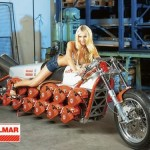 chainsaw motorcycle mod design