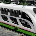chinese bus concept cars under straddling bus image 2