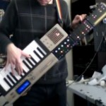commodore 64 keyboard guitar mod design