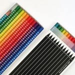 creative calendar design colored pencils image