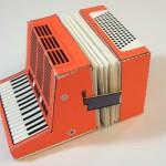 creative calendar design fold out accordion image