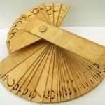 creative calendar design wooden office calendar image 2