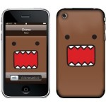 domo kun domo face iphone skin