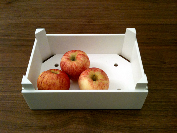 iPad case and fruit bowl