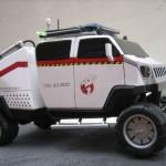 ghostbusters ecto car mod design 2