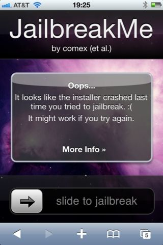 iPhone 4 Jailbreak Me 1