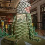 kermit canstruction artwork 1