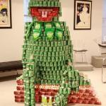 kermit canstruction artwork 2