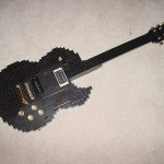 lego les paul guitar mod design