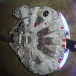 millennium falcon guitar mod design 2