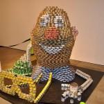 mr potato head canstruction artwork