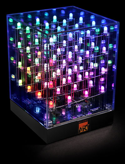 multi-color animated LED lights
