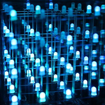 multi-color animated LEDglow